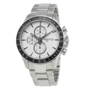 Tissot V8 Automatic Silver Chronograph Watch
